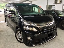 2015 TOYOTA VELLFIRE 2.4 GOLDEN EYES (A) FULL SPEC 7 SEATER TWIN POWER DOOR POWER BOOT