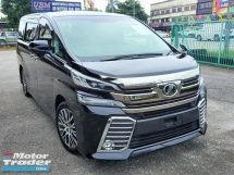 2015 TOYOTA VELLFIRE 2.5ZG Pre Crash Big Crazy Sales Actual Mileage New Arrival Stocks Many Units