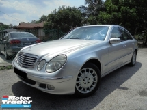 2002 MERCEDES-BENZ E-CLASS E240 2.6 Avantgarde W211 TipTOP LikeNEW Reg.2011