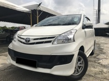2014 TOYOTA AVANZA 1.5 1OWNER FULOAN HIGHSPEC