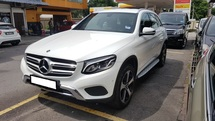 2017 MERCEDES-BENZ GLC GLC200 2.0cc EXCLUSIVE (A) REG NOV 2017, ONE CAREFUL OWNER, FULL SERVICE RECORD, LOW MILEAGE DONE 17K KM, UNDER WARRANTY UNTIL NOVEMBER 2021