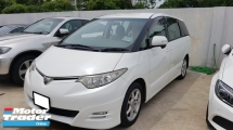 2008 TOYOTA ESTIMA 2.4AERAS G EDITION (A) REG 2011, AERAS G MODEL, 7 SEAT, 2 POWER DOOR, REVERSE CAMERA, DVD MONITOR, 17