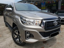 2018 TOYOTA HILUX TOYOTA HILUX 2.4 L-EDITION VNT 4X4 6 SPEED (A) FULL SERVICE RECORD UMW