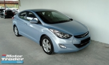 2013 HYUNDAI ELANTRA 1.6 GLS Push Start Premium High Spec