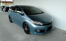 2011 TOYOTA WISH 1.8 Valve Matic New Face P/start High Spec