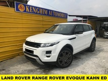 2013 LAND ROVER EVOQUE RANGE ROVER DYNAMIC KAHN EDITION Si4 TURBO