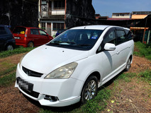 2011 PROTON EXORA 1.6 BOLD PREMIUM FULL Spec(AUTO)2011 Only 1 LADY Owner, 68K Mileage, TIPTOP, ACCIDENT-Free, DIRECT-Owner, FULL LEATHER Seat & AIRBEG