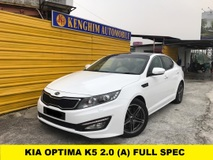 2013 KIA OPTIMA 2.0 (A) PANAROMIC ROOF KEYLESS PUSH START FULL SPEC