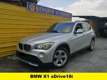 2012 BMW X1 SDRIVE18i CKD 2.0 (A) PETROL FULL SPEC