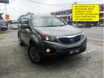2012 KIA SORENTO 2.4 FACELIFT PANAROMIC ROOF