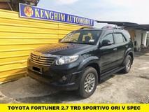 2014 TOYOTA FORTUNER 2.7 V TRD SPORTIVO 4WD (A) FULL SPEC