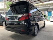 2013 TOYOTA ALPHARD 2.4 prime S 2 POWER DOOR ALPINE PLAYER LEATHER SEATS UNREG