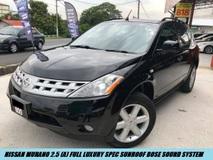 2006 NISSAN MURANO 250XL MODE HIGH SPEC SUNROOF BOSE SOUND SYSTEM LOW MILEAGE ONE OWNER