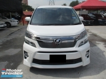 2012 TOYOTA VELLFIRE full loan 2.4 Z facelift 7 seater 2 power door