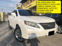 2009 LEXUS RX350 HUD POWER BOOT AUTO TILL STEERING