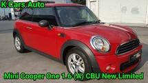2014 MINI One 1.6 (A) 6 SPEED FACELIFT CBU NEW LOW MILEAGE FULL SERVICE HISTORY LIKE NEW
