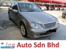 2006 MERCEDES-BENZ C-CLASS c230k 1.8cc kompressor (a) elegance local spec