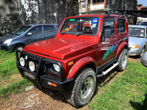 1995 SUZUKI JIMNY 1.3 SUV FULL Spec(MANUAL)1995.1996 Only 1 UNCLE OWNER, 60K Mileage, TIPTOP, ACCIDENT-Free, DIRECT-Owner, with FULL LEATHER Seat