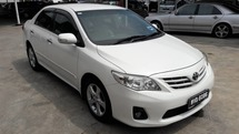 2011 TOYOTA COROLLA ALTIS 1.8 G - One Careful Owner