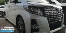 2015 TOYOTA ALPHARD SC 2.5 PILOT SEATS / FULL LEATHER SETAS /  READY STOCK