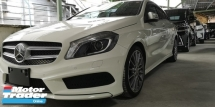 2014 MERCEDES-BENZ A-CLASS A180 AMG SPORT 1.6CC / READY STOCK / TIPTOP CONDITION / NIGHT EDITION / 4 YEARS WARRANTY