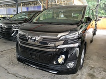 2016 TOYOTA VELLFIRE 2.5X FULL LOAN MANY UNIT UNREG 2016