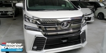 2015 TOYOTA VELLFIRE ZG 2.5CC PILOT SEATS / SUNROOF / 5A CONDITION / FREE ACCIDENT / ORIGINALLY MILEGE / READY STOCK / 4 YEARS WARRANTY