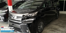 2015 TOYOTA VELLFIRE ZG 2.5CC PILOT SEATS / FREE ACCIDENT / 5A CONDITION