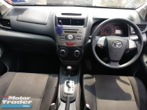 2014 TOYOTA AVANZA 1.5G  TIPTOP COND PRIVATE USE