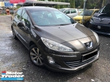 2012 PEUGEOT 408 1.6 (A)LEATHER SEAT ACCIDENT FREE