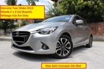 2015 MAZDA 2 1.5 (A) SKYACTIV G (Ori Year Make 2015)(Low MIleage 41k Km Only)(Full Service Record)
