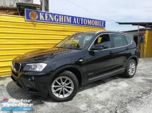 2012 BMW X3 XDRIVE20D 2.0 (A) TURBO DIESEL NAVI
