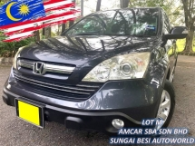 2007 HONDA CR-V 2.0 I-VTEC [SELL BELOW MARKET] RAYA