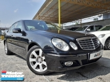 2009 MERCEDES-BENZ E-CLASS 1.8 (A) KOMPRESSOR LOCAL CKD GOOD CONDITION PROMOTION PRICE.