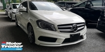 2014 MERCEDES-BENZ A-CLASS A180 AMG SPORT/ 4 YEARS WARRANNTY  / READY STOCK / TIPTOP CONDITION
