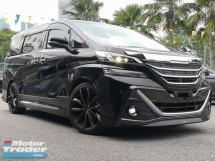 2016 TOYOTA VELLFIRE ZG Unique Modellista Full Bodykit Japan 20 Rim Mileage 20,000