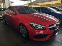 2017 MERCEDES-BENZ CLA 180 AMG SPORT PACKAGE UNREGISTERED