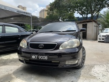 2004 TOYOTA COROLLA ALTIS 1.8 G PREMIUM SPEC TIPTOP CONDITION LOW MILEAGE CALL 0122993875