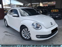 2015 VOLKSWAGEN BEETLE 1200L HIGH SPEC LIMITED MODEL TIPTOP CONDITION LIKE NEW CAR LOW MILEAGE ONE OWNER