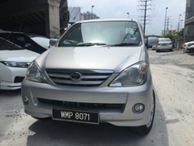 2006 TOYOTA AVANZA 1.3E MPV 7 SEATER TIPTOP CONDITION MUST COME AND VIEW 0122051505