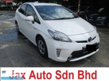 2012 TOYOTA PRIUS 81000km full service record 1.8 hybrid luxury ori paint since new