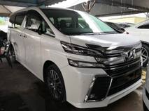2015 TOYOTA VELLFIRE 2.5 ZG PILOT SEATS (SUNROOF) FULL SPEC UNREG 2015