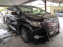 2015 TOYOTA ALPHARD 2.5 SC JBL HOME THEATER 360 CAMERA FULL SPEC UNREG 2016