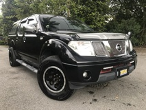2011 NISSAN NAVARA 2.5 (A) FULL SEVICE RECORD (TAN CHOONG) MILAGE 35K CANOPY LIKE NEW