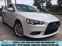 2012 MITSUBISHI LANCER GT2.0(A) H.SPEC SPORT LIMITED UNIT PADDLESHIFT FULL LEATHER SEAT