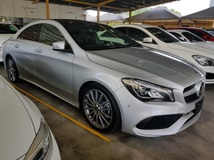 2017 MERCEDES-BENZ CLA 180 AMG SPORT PACKAGE PANORAMIC ROOF MEMORY SEAT FACELIFT Unregistered
