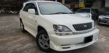 1999 TOYOTA HARRIER 2.2 EFI (A) ELECTRIC SEAT ORIGINAL WHITE