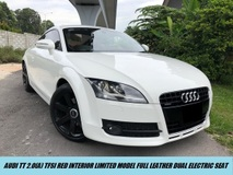 2012 AUDI TT 2.0 TFSI S-LINE FULL LEATHER RED PADDLESHIFT LIMITED LOCAL SPEC AUDI MALAYSIA