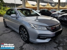 2017 HONDA ACCORD 2.4 (A) UNDER WARRANTY