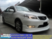 2005 TOYOTA VIOS 1.5G (AT) FACELIFT